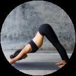 Ashtanga Yoga pose example