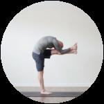 Bikrim Yoga pose example