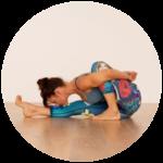 Hatha Yoga pose example