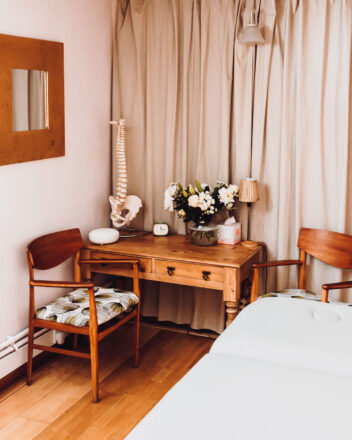 The Healing Room at West Cornwall Inner Space